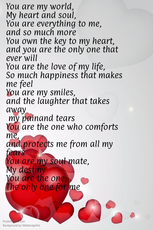 i love my husband so much poem