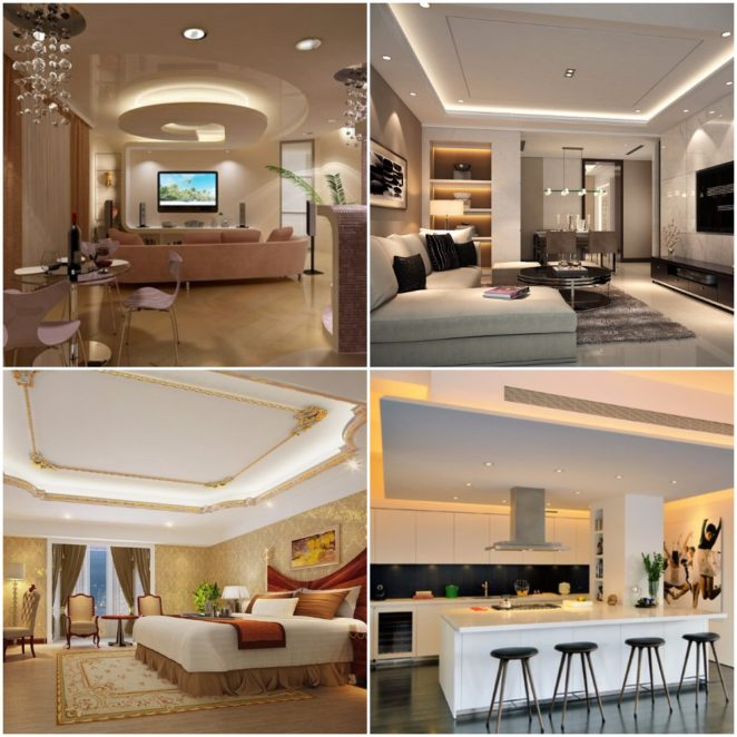 Ideas of suspended drop ceiling decor for your home - Virily