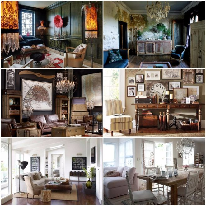 Tips and ideas for the Vintage interior design style - Virily