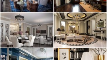 Industrial interior design ideas for home decoration for Interior design challenge art deco