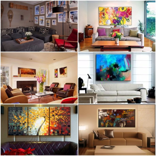 tips for decorative interior element paintings in the interior