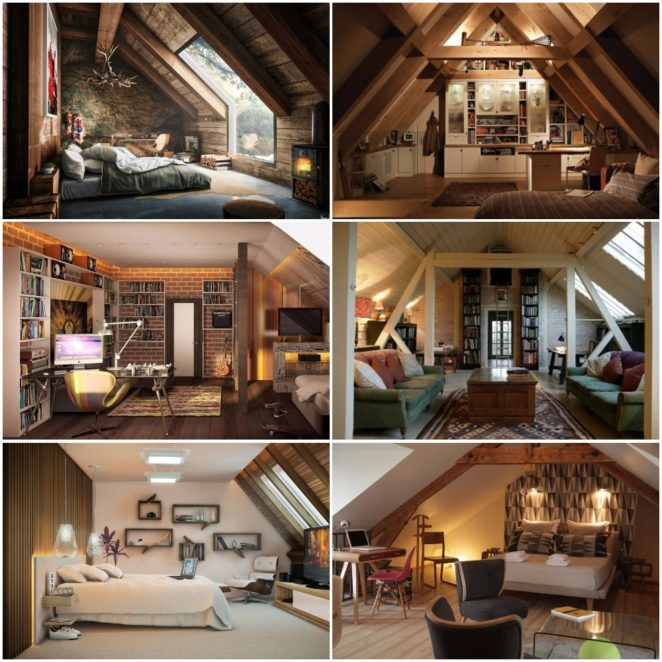 The Flat Apartments: Best Tips Of How To Decorate An Attic Apartment