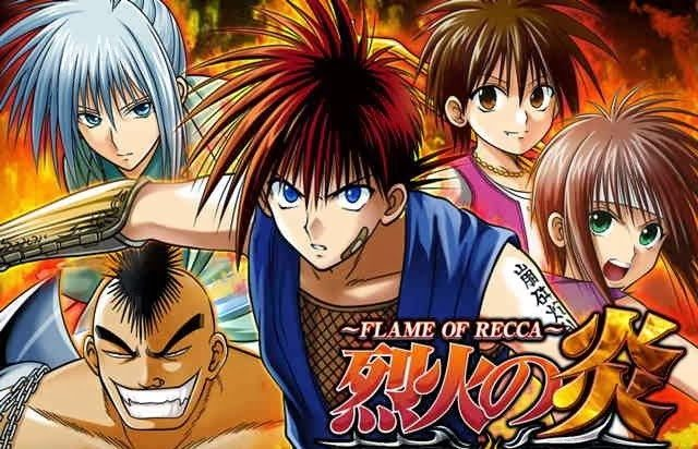 Flame Of Recca My Tv And Anime Review Virily