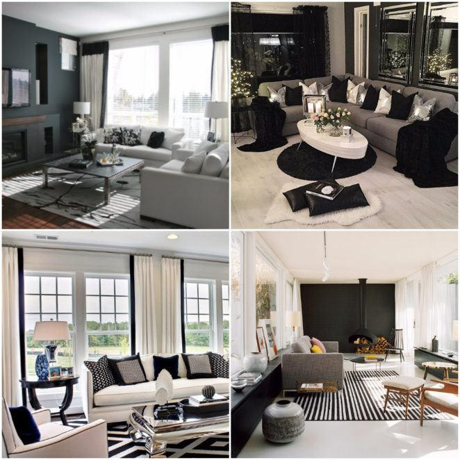 Tips and ideas for decorating your interior with white and ...