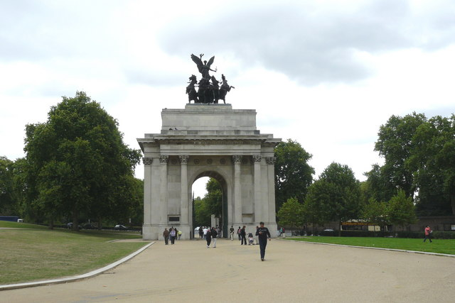 45713b8b443 Hyde Park Corner  Memorials to the Duke of Wellington – Virily