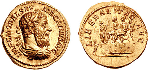 an introduction to the life of marcus opellius macrinus Macrinus ( latin : marcus opellius severus macrinus augustus  c 165 – june 218) was roman emperor from april 217 to 8 june 218 he reigned jointly with his young son diadumenianus  macrinus was by origin a berber from mauretania caesariensis  a member of the equestrian class, he became the first emperor who did not hail from the senatorial class and was the first emperor from mauretania.