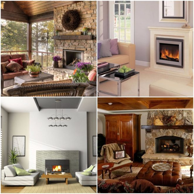 What to choose traditional fireplace or artificial for Choosing a fireplace