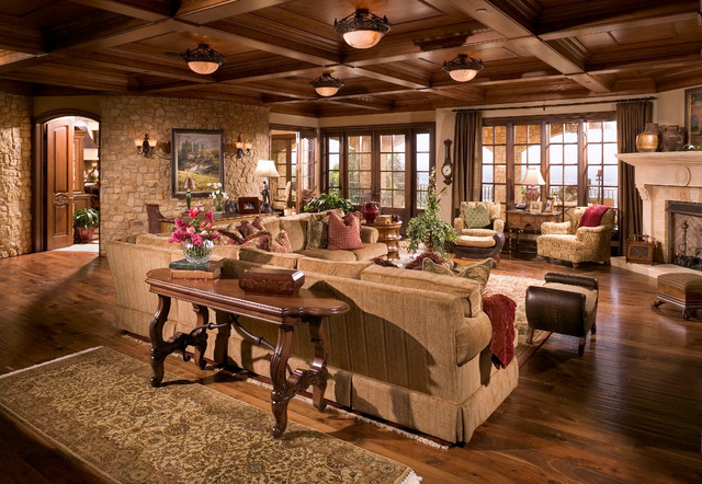 Amazing Inspiration Idea For Tuscan Style Living Room Number 9 Part 18
