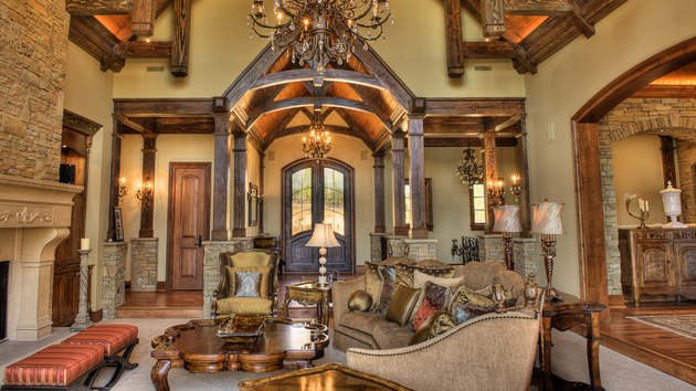 10 inspiration ideas for tuscan style living room virily - Italian inspired living room design ideas ...