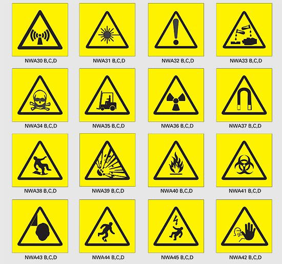 Are You Aware Of These Safety Symbols Virily