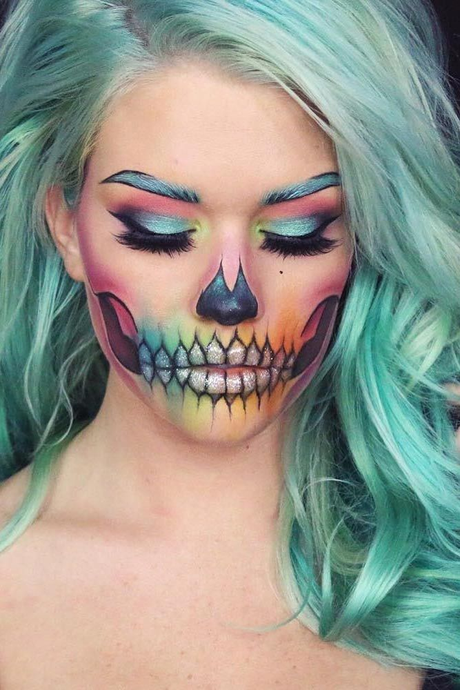 HOT OR NOT: 10 Makeup Ideas For Halloween 2017 - Virily