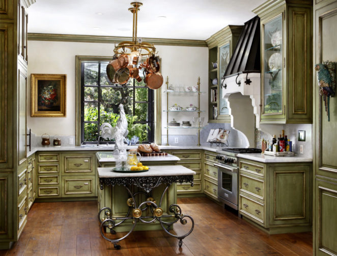 Tips And Ideas For The Olive Green Kitchen   Virily
