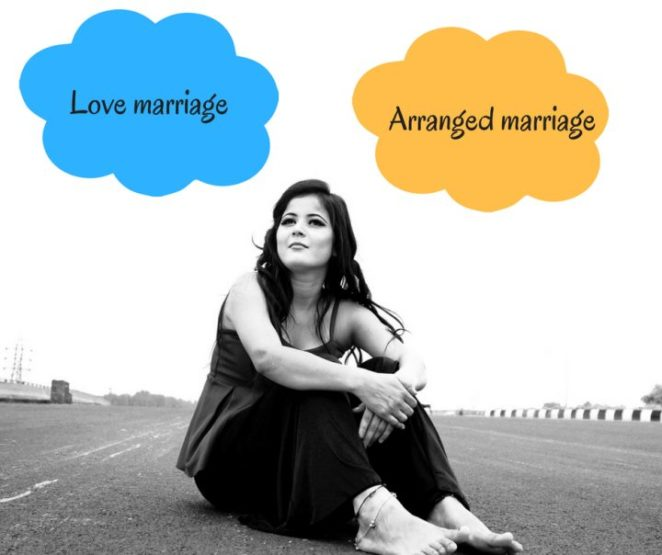 love marriage vs arrange marriage In these slides there is comparison of love & arrange marriage.