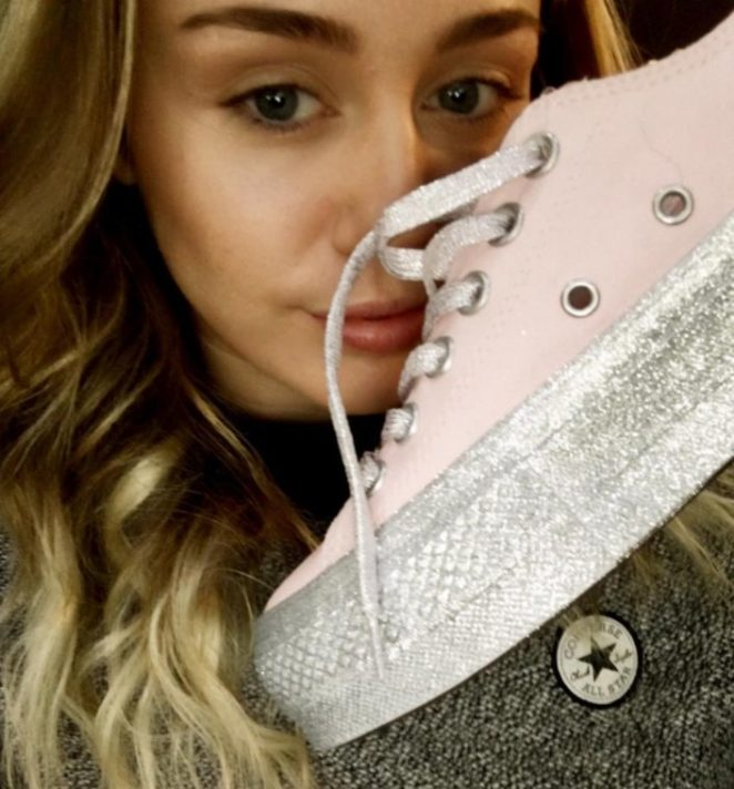 Here s Your First Look at Miley Cyrus  Collab with Converse – Virily e7e618b8e