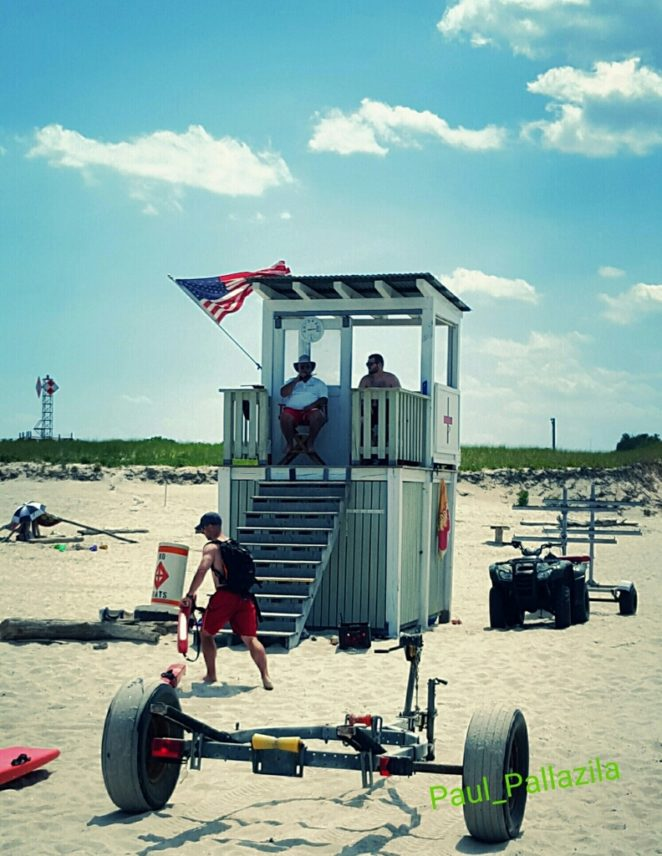 Crane beach lifeguard