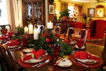 elegant christmas table settings ideas archives virily
