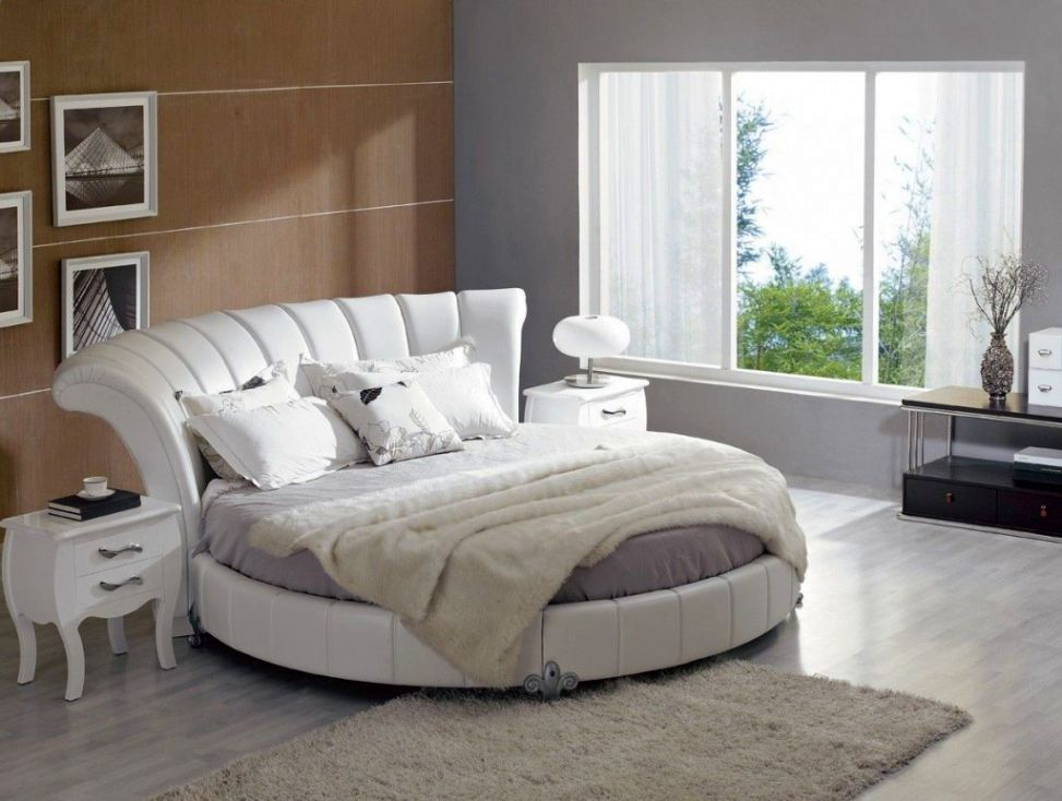 Beautiful Round Beds For Your Bedroom Ideas   Virily