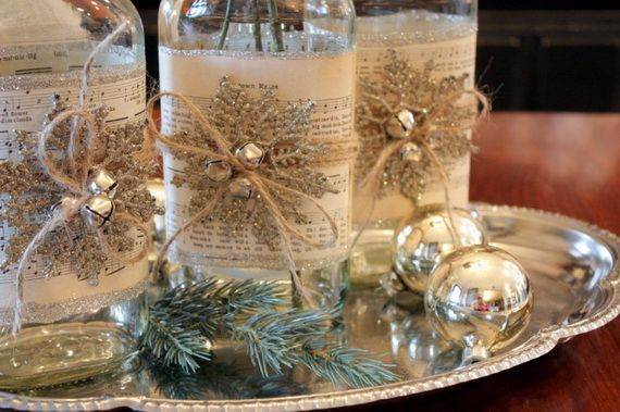Simple Ideas For Beautiful Christmas Table Centerpiece   Virily