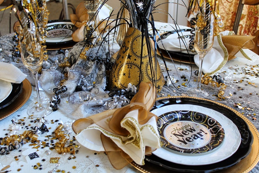 New Year Celebration: Some Simple Ideas For The Festive Table ...