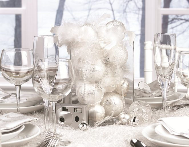 christmas table decor from natural to shiny virily