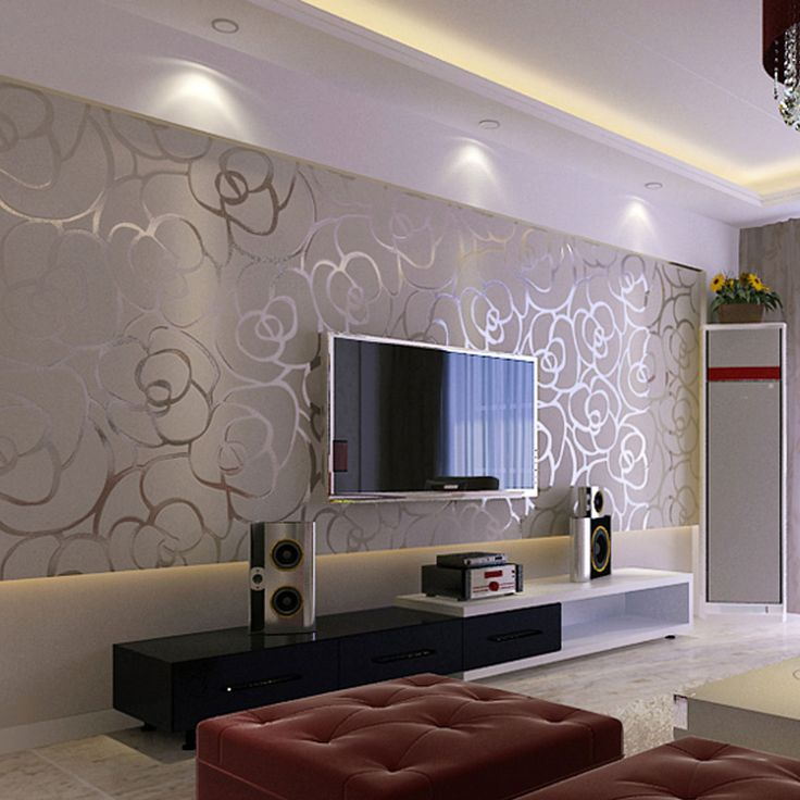 Tips for interesting wallpaper effects for walls virily