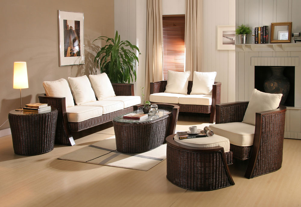 Wicker furniture for indoor and outdoor use - Virily