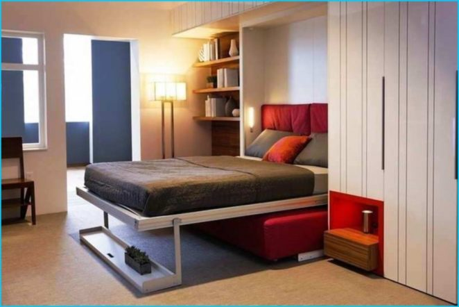 Tips For Small Bedroom Wall Mounted Bed Bed In A Closet