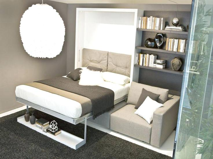 Tips for small bedroom wall mounted bed bed in a closet for Portable bed ideas