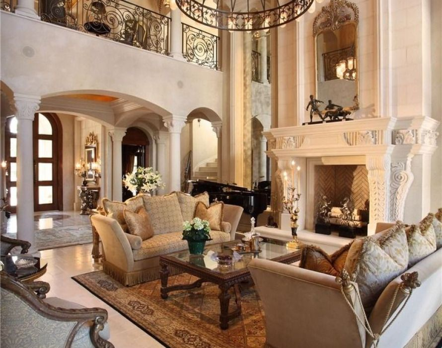 Tips For Living Room In Mediterranean Style: Furniture