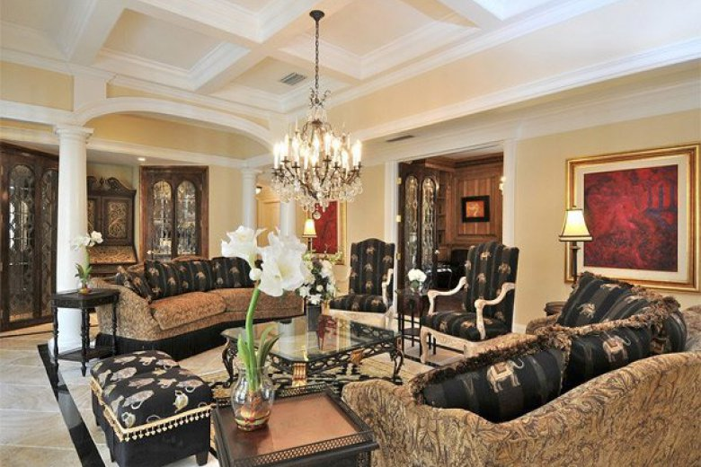 Tips For Living Room In Mediterranean Style Finishing Colors