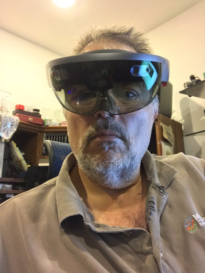 Sidebar discussion on AR and VR…
