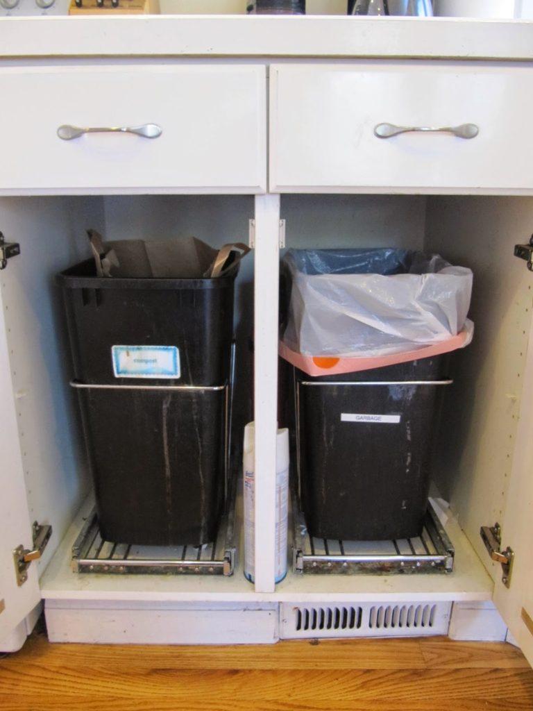Under Sink Worm Compost Bin Ideas