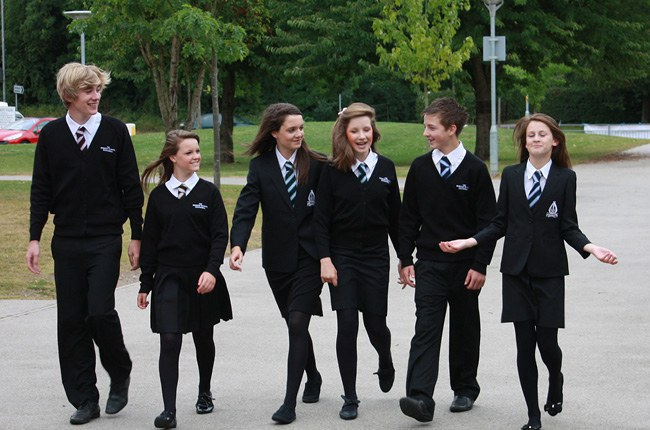 why should we have to wear school uniforms