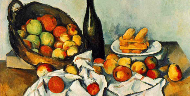 French Post Impressionist Painter Paul Cezanne
