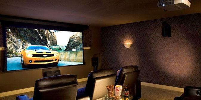 Setting up your Home Theatre System with Projector Screen - Virily